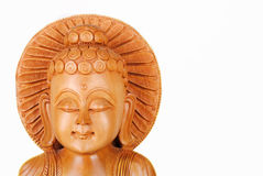 Wooden statues. A wooden statues made ​​in India Stock Photography