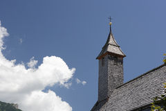 Wooden steeple Stock Photo