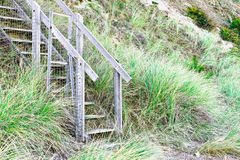 Wooden steps Royalty Free Stock Images