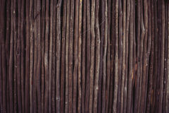 Wooden stick wall Royalty Free Stock Photography