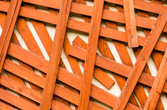 Wooden sticks and bench background pattern Stock Images