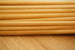 Wooden sticks Royalty Free Stock Images