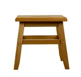 Wooden Stool. Isolated, clipping path included Stock Photography