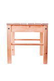 Wooden stool Stock Images