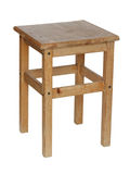 Wooden stool. Royalty Free Stock Photography