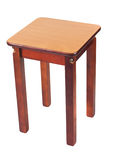 Wooden stool Royalty Free Stock Images