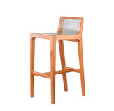 Wooden stool chair Royalty Free Stock Image