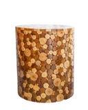 Wooden stool isolated on white background Royalty Free Stock Image