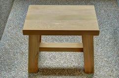 Wooden stool Royalty Free Stock Photo
