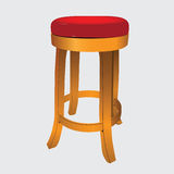 Wooden stool Royalty Free Stock Photos