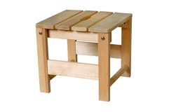 Wooden stool Royalty Free Stock Photography