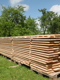 Wooden store Royalty Free Stock Image