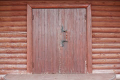 Wooden Storehouse Royalty Free Stock Images