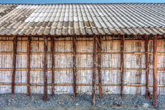 The wooden storehouse Royalty Free Stock Photo