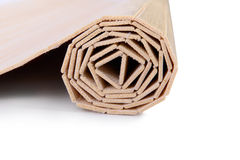 Wooden strips wrapped Stock Photography