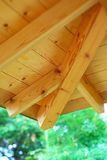 Wooden structure. Part of a wooden structure Royalty Free Stock Image