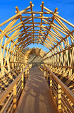 Wooden structure, Haus der Kulturen der Welt Royalty Free Stock Photos