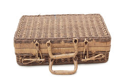 Wooden suitcase Stock Photography