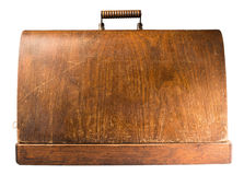 Wooden suitcase Royalty Free Stock Photo
