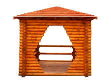 Wooden summerhouse Stock Image