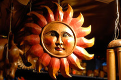 Wooden sun Royalty Free Stock Photo