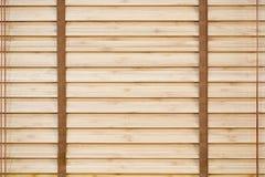 Wooden sun jalousie Stock Images