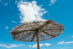 Wooden sunshade Royalty Free Stock Images