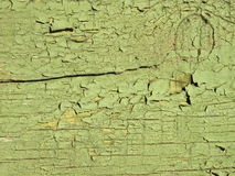 Wooden surface. Old painting green wooden surface sitable as background Royalty Free Stock Photo