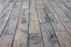 Wooden surface. Surface which is covered by square pieces of a tree (floor Stock Photography