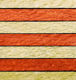Wooden surface of a board. Sample of the abstract background from wooden rod Royalty Free Stock Photography
