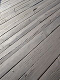 Wooden surface floor pattern. Exterior wooden surface floor pattern Royalty Free Stock Images