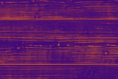 Wooden surface painted in purple color. Abstract colored background - a wooden surface painted in purple color Stock Photos