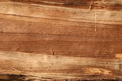 Wooden surface, textured and detailed. Old rough and weathered wooden surface close up, dirty, textured and detailed Royalty Free Stock Photos