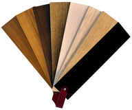 Wooden Swatch Royalty Free Stock Photography