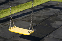 Wooden Swing Stock Image