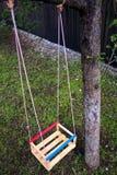 Wooden swing Stock Photos
