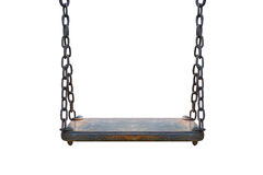 Wooden swing Royalty Free Stock Photos