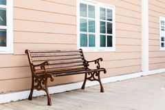 Wooden swing Royalty Free Stock Photography