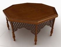 Wooden Table Royalty Free Stock Images
