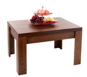 Wooden table Royalty Free Stock Image