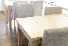 Free Wooden Table And Chair In Coffee Shop Royalty Free Stock Photo - 30680285