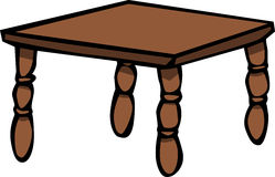 Wooden table Royalty Free Stock Photo