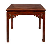 Wooden table chinese style Royalty Free Stock Image