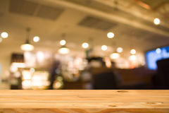 Wooden table Royalty Free Stock Photos