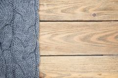 Knitted cloth Royalty Free Stock Image