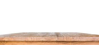 Wooden table isolated Stock Photos