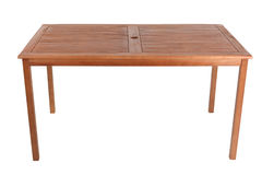 Wooden table Stock Image