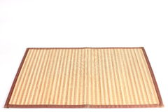 Wooden table mat - natural background. Royalty Free Stock Photography