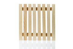 Wooden Table Mat Royalty Free Stock Photos