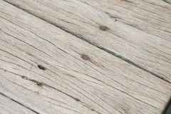 Wooden table. In my home Royalty Free Stock Photography